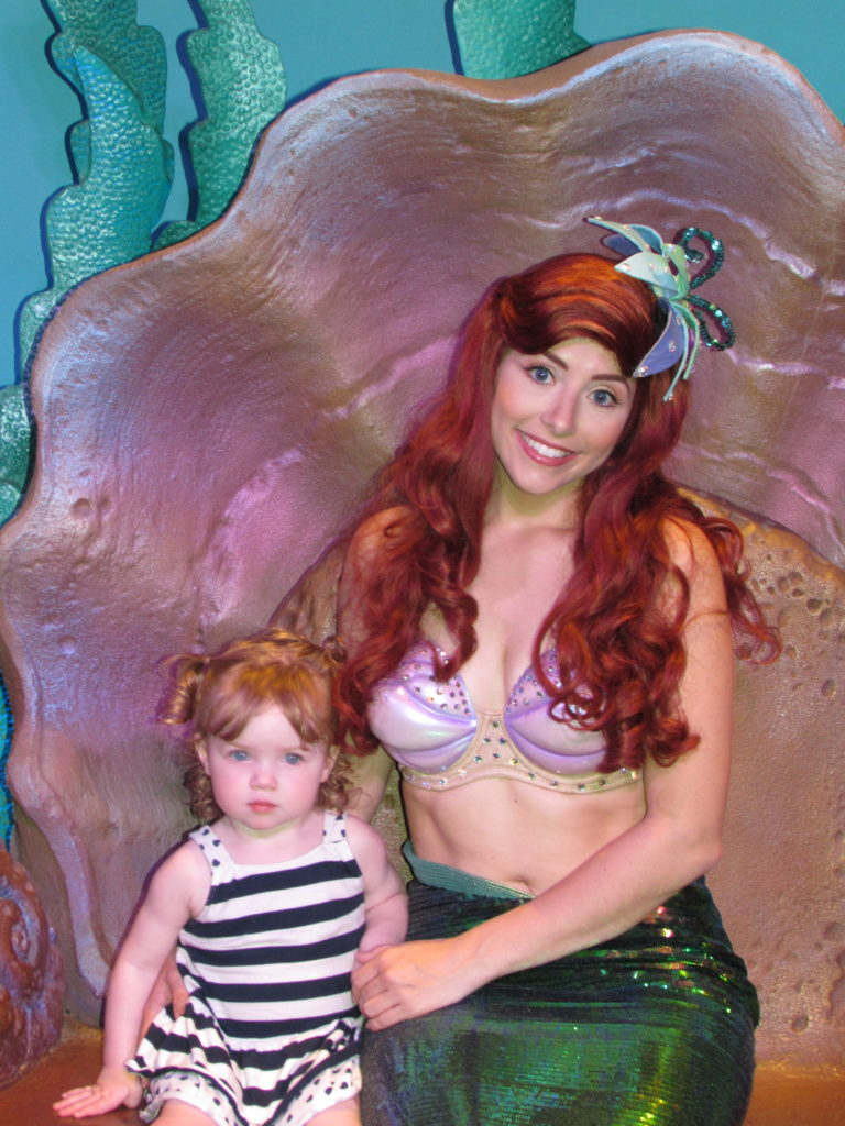 Character meet and greet ariel chasing walt m4hsunfo