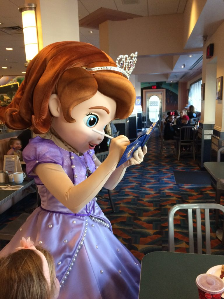 Character meet greet disney junior characters chasing walt sofia the first kristyandbryce Images